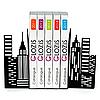 Упоры для книг Glozis City G-026 30 х 20 см
