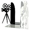 Упоры для книг Glozis Chaplin G-025 30 х 20 см, фото 2