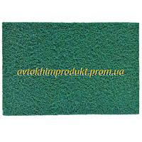 """SMIRDEX Нетканое абразивное волокно для матирования """"Скотч-брайт"""" зеленое P240 23х15см"""