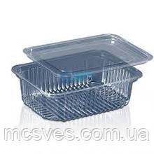 Блістерна одноразова упаковка для салатів і напівфабрикатів ПС-161 (350 мл)