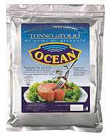 Тунець в соняшниковій олії Tonno Передній полотно, 1 кг.