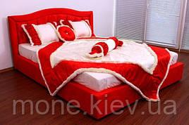 """Кровать """"Даниель"""" двуспальная с мягким изголовьем и подъемным механизмом"""