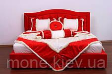 """Кровать """"Даниель"""" двуспальная с мягким изголовьем и подъемным механизмом , фото 2"""