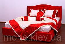 """Кровать """"Даниель"""" двуспальная с мягким изголовьем и подъемным механизмом , фото 3"""