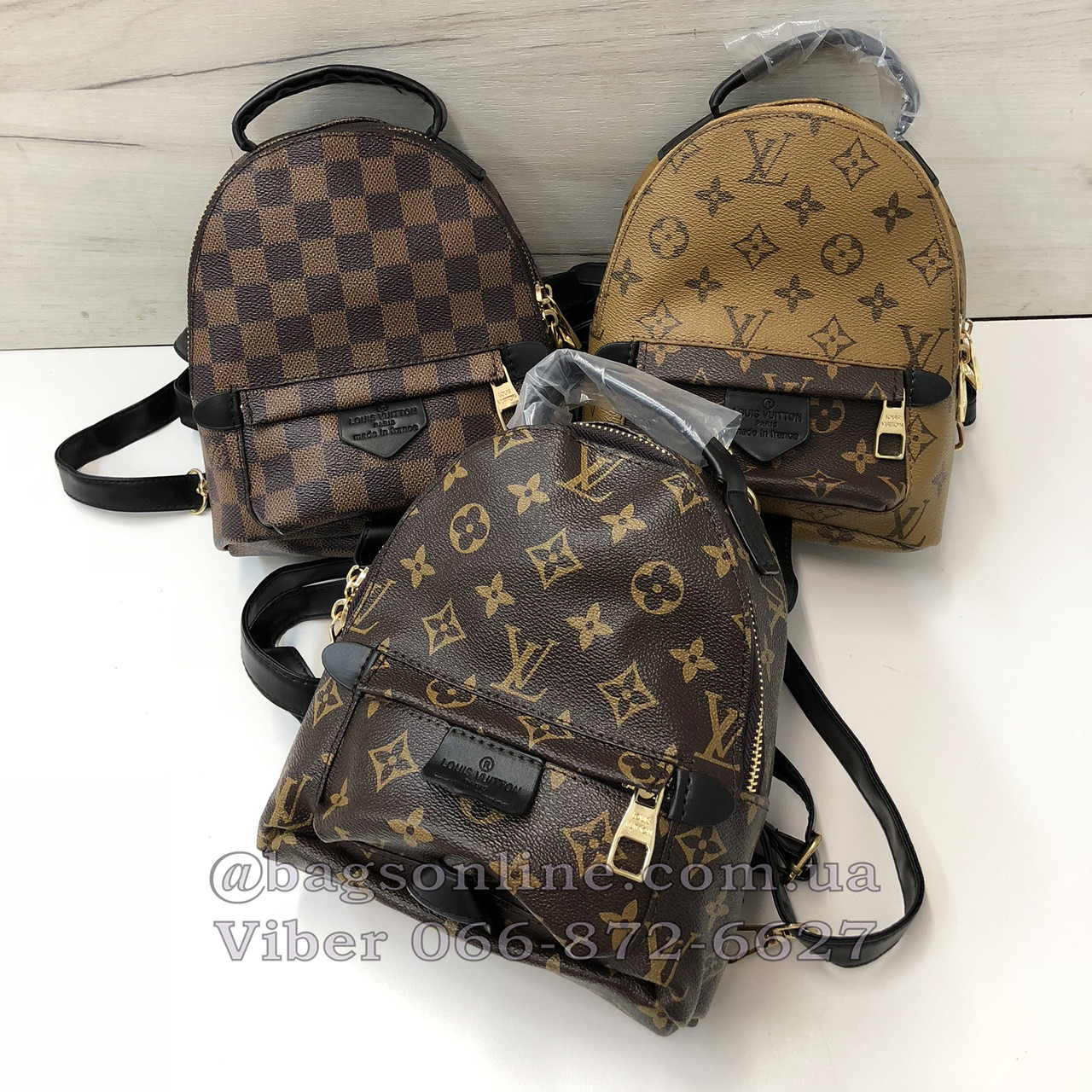 d679c2a908ba Мини портфель Louis Vuitton | рюкзак луи виттон | lv лв квадрат Коричневый