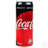 Диетическая Coca Cola без сахара 330 гр