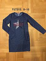 Туника для девочек оптом, F&D, 8-16 см,  № FD7313, фото 1