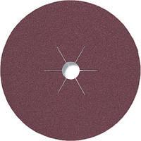 Фибровые круги фибра CS 561 Klingspor для обработки стали и цветных металлов, дерева диаметр 180 мм р80