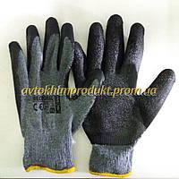 RAWPOL Перчатки RECODRAG трикотажные прорезиненные 1 пара размер XL