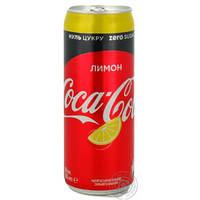 Диетическая Coca Cola с лимоном без сахара 330 гр