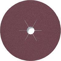 Фибровые круги фибра CS 561 Klingspor для обработки стали и цветных металлов, дерева диаметр 180 мм р100