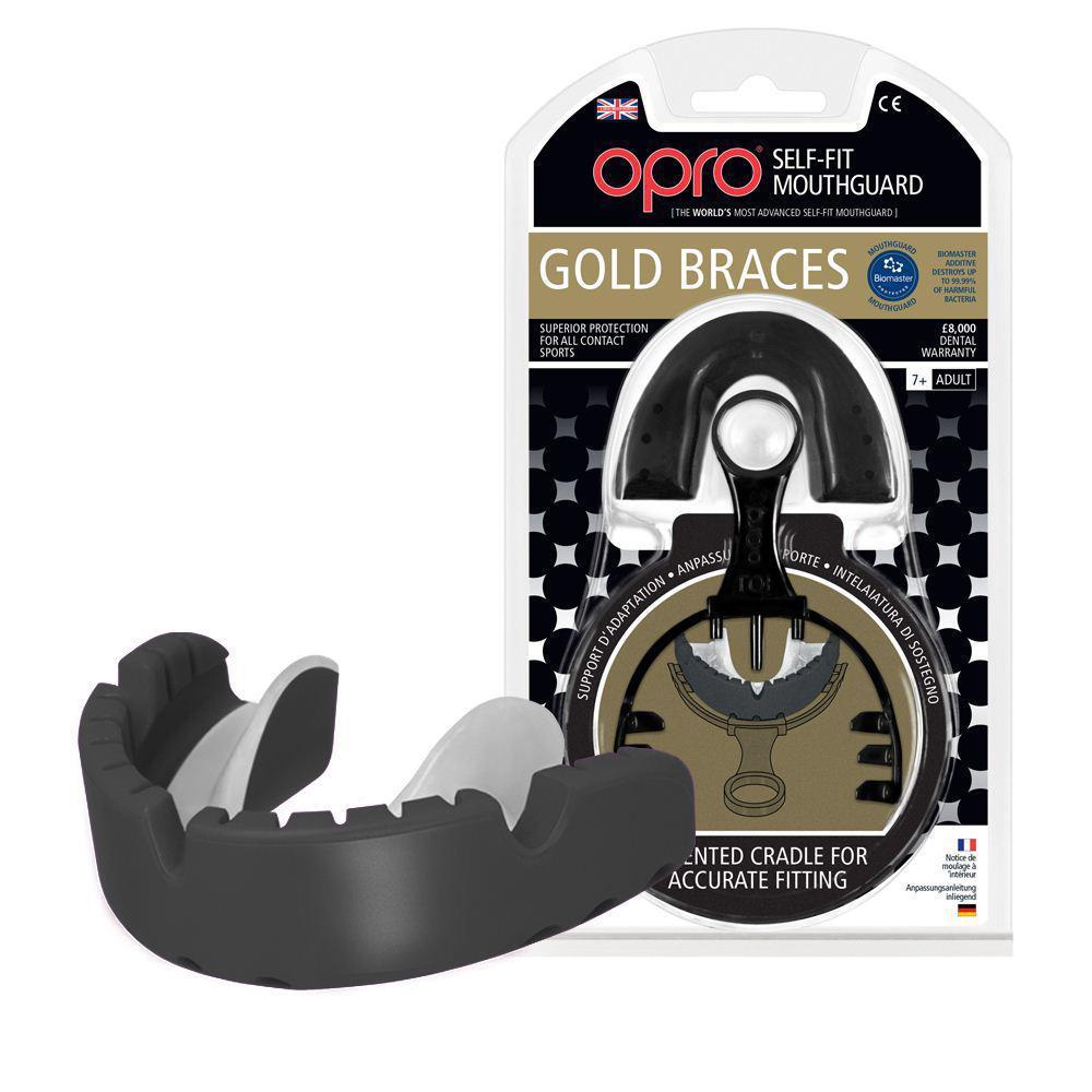 Капа OPRO Gold Braces
