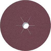 Фибровые круги фибра CS 561 Klingspor для обработки стали и цветных металлов, дерева диаметр 235 мм р100