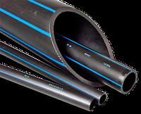 Труба полиэтиленовая водопроводная ПЭ-Труба  черная д.20 РN 6*1,8 м.