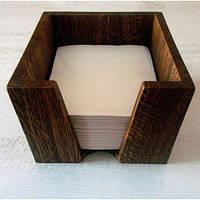 Салфетница деревянная квадратная, фото 1