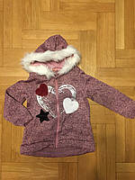 Пайта с начесом для девочек оптом, F&D, 4-12 лет., арт. FD-7295, фото 2