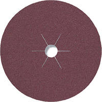 Фибровые круги фибра CS 561 Klingspor для обработки стали и цветных металлов, дерева диаметр 235 мм р80