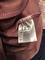 Трикотажный костюм-двойка для девочек оптом, F&D, 3/4-7/8 лет, арт. 3773, фото 5