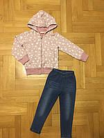 Трикотажный костюм-двойка для девочек оптом, F&D, 3/4-7/8 лет, арт. 3773, фото 3