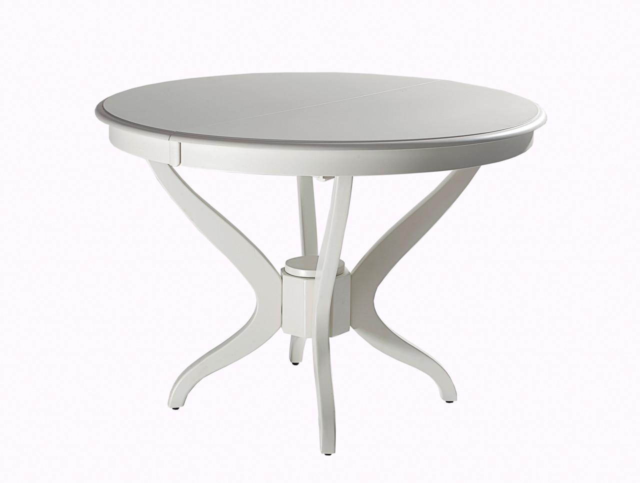 Стол обеденный Доминика раскладной 150-190х90 Айвори лайт (Domini TM), фото 1