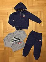 Трикотажный костюм-тройка для мальчиков оптом, F&D ,3/4-7/8 лет., арт.WX-2249, фото 2