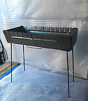 Мангал сборной, металлический на 12 шампуров. Двухуровневый.