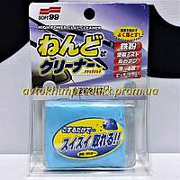 SOFT'99 Глина Surface Smoother Mini универсальная очищающая мелкоабразивная голубая 100г