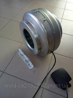 Вентилятор канальний Soler&Palau Vent 250 L, круглий канальний вентилятор купити в Одесі, фото 2