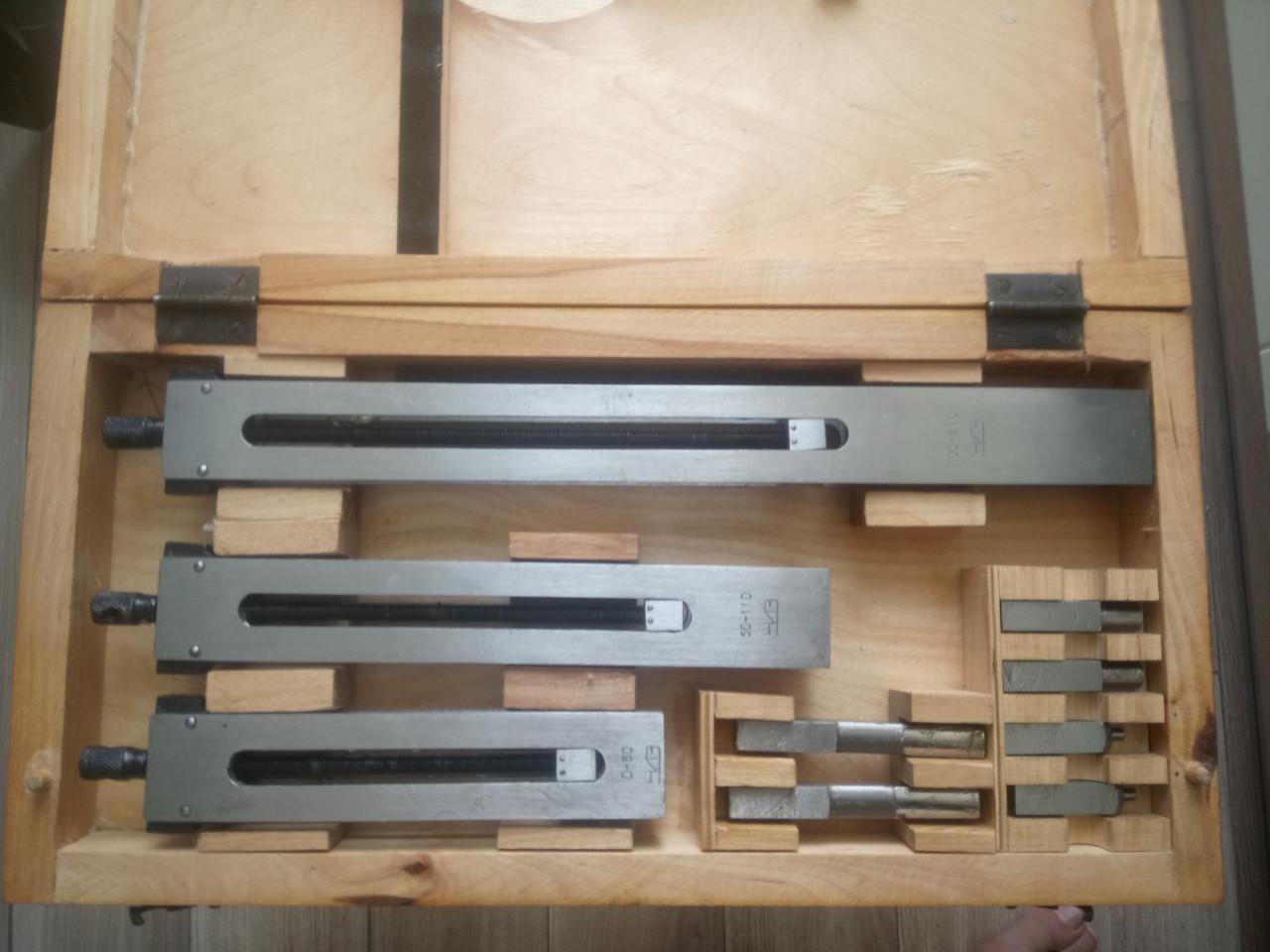 Наборы принадлежностей к концевым мерам длины ПК-2