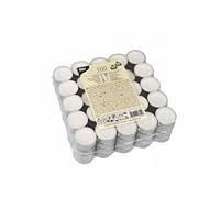 Свечи чайные таблетка 100 шт (103563)