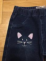 Лосины джинсовые для девочек оптом, F&D, 1-5 лет.,арт.FD-7656, фото 2