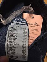 Лосины джинсовые для девочек оптом, F&D, 1-5 лет.,арт.FD-7656, фото 4