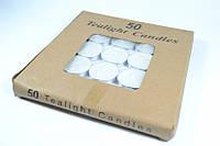 Свечи чайные таблетка 50шт (108589)