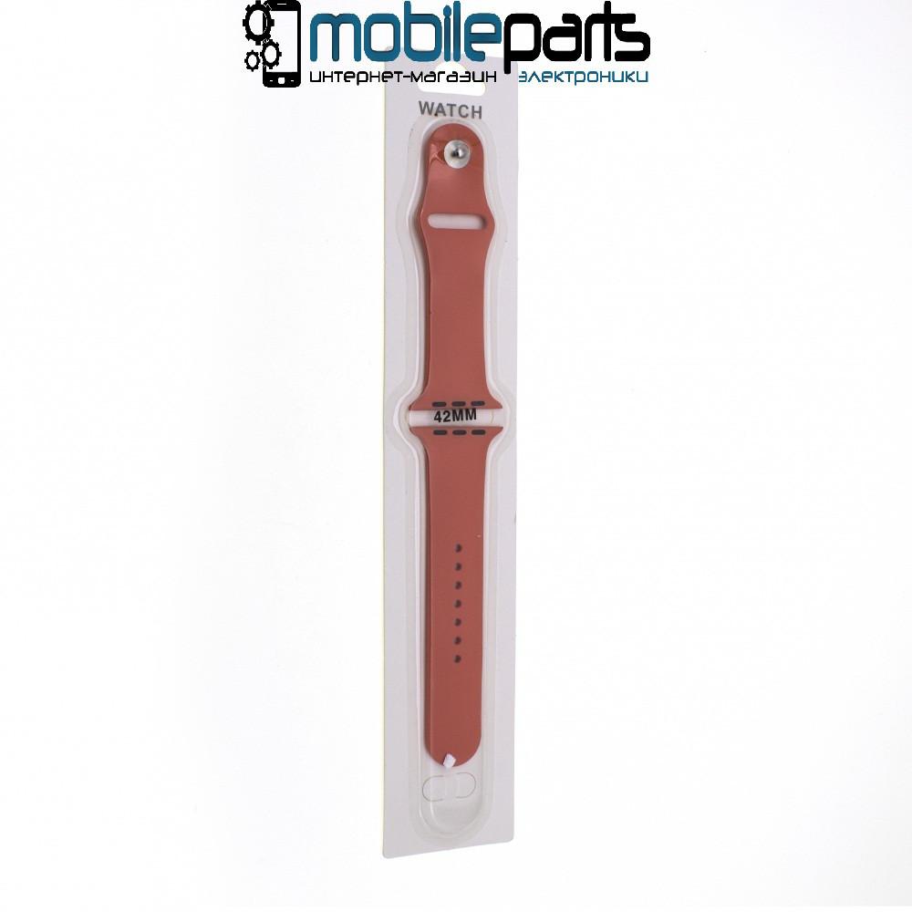 Ремешок Apple Watch Band Sport 42mm (Светло-Оранжевый)