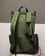 Рюкзак для металлоискатель (металоискателя, металошукача) и лопаты (2018 олива), фото 3