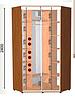 Шкаф-купе (2 фасада) высота 2400