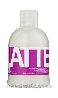 Kallos Latte шампунь для волос с экстрактом молочного протеина, 1000мл