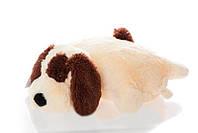 Плюшевая подушка-игрушка собачка 60 см.