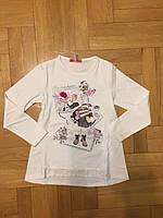 Трикотажный реглан с легким начесом для девочек оптом, F&D,4-12 лет., aрт.FD-7269, фото 2