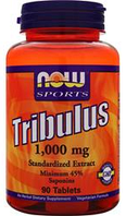 Трибулус Now Foods Tribulus 1000mg 90 tabs