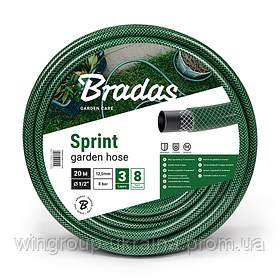 """Шланг поливочный Bradas Sprint 1/2"""" (30m)"""