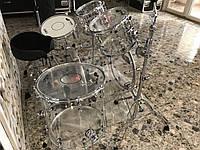 Аренда Акриловой прозрачной барабанной установки Jobeky Drums, фото 1