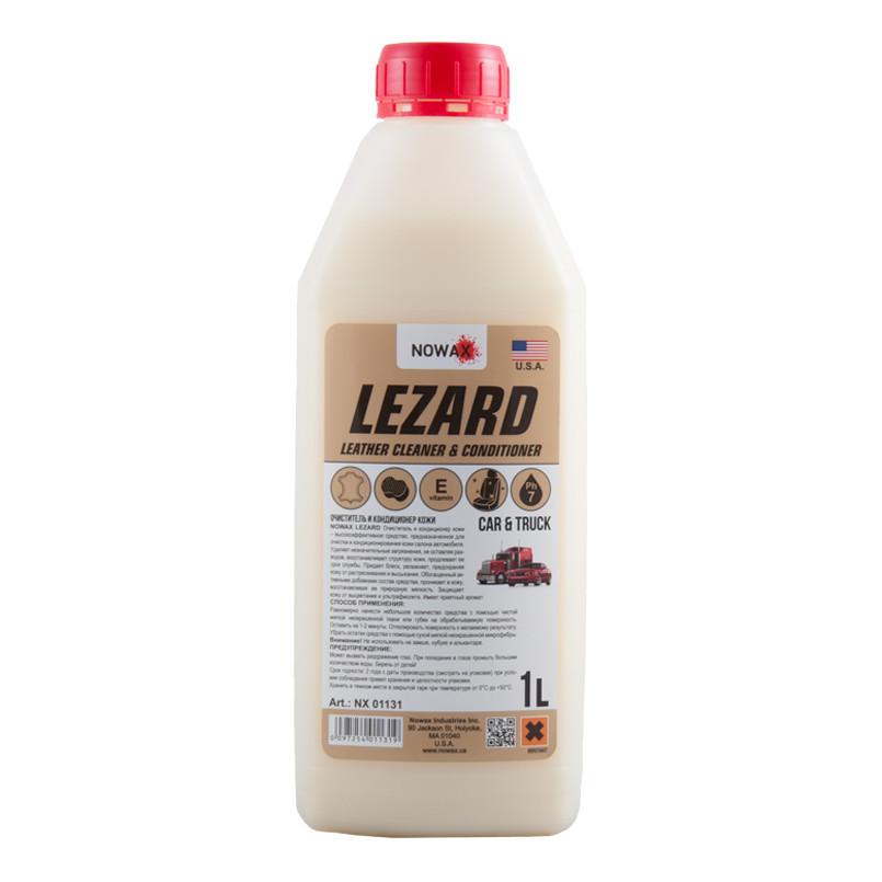 Очиститель и кондиционер кожи LEZARD NOWAX (NX01131) 1л.