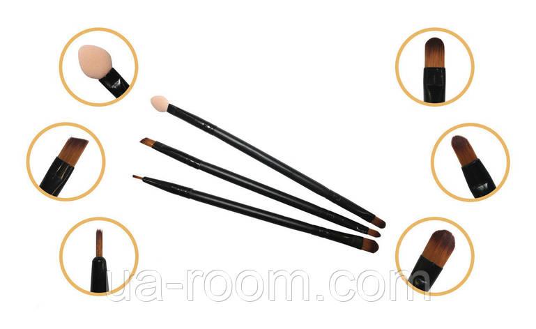 Набор кистей для макияжа Aise Line (3 штуки), SB1302, фото 2