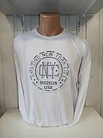 Футболка длинный рукав RBS, NYC стрейч 002/ купить футболку  длинный рукав оптом