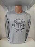 Футболка длинный рукав RBS, NYC стрейч 004/ купить футболку  длинный рукав оптом