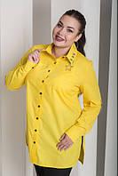 Сорочка жіноча з декором на рукавах, з 48-82 розмір, фото 1