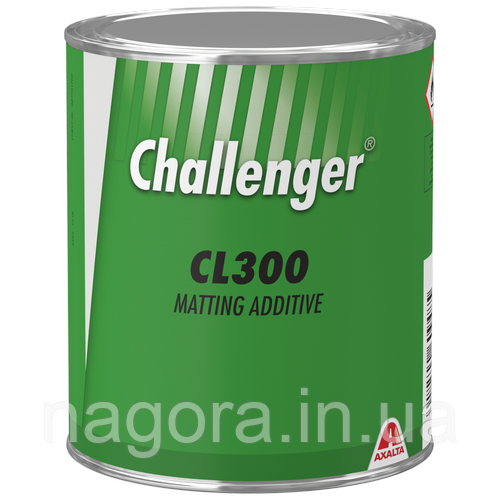 Матова добавка Challenger CL300 для 2K покриттів
