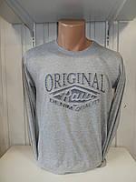 Футболка длинный рукав RBS, ORIGINAL стрейч 001/ купить футболку  длинный рукав оптом