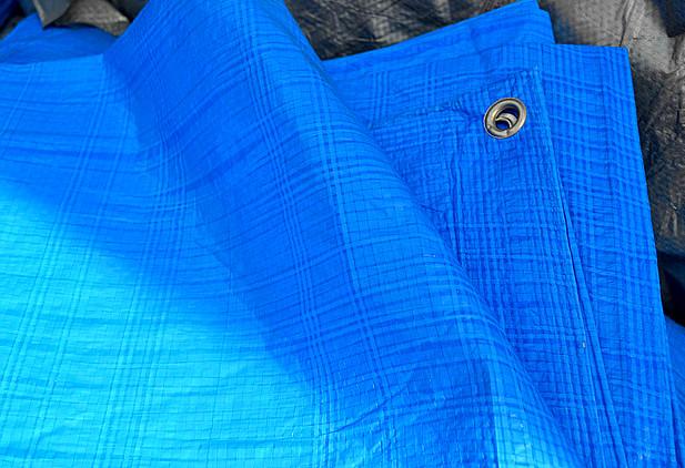 """Тент 10х12 от дождя, и для создания тени """"Blue"""" 60 г/м2. Ламинированный с кольцами. Полог."""